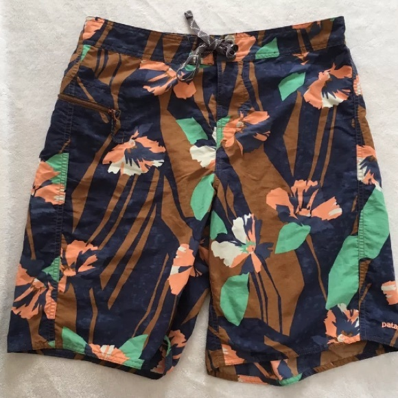 Patagonia Other - Patagonia Floral Board Shorts med or large